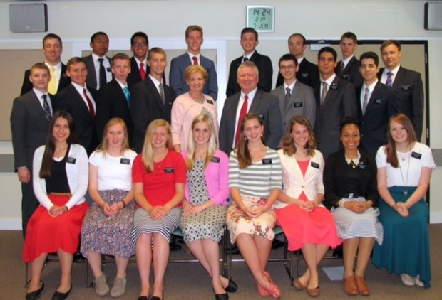 My first zone, 11 of these missionaries have left and we got 13 more missionaries into the CCM.